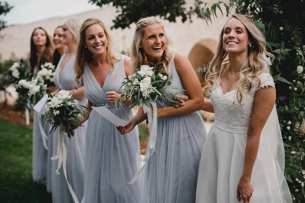 Bridesmaids Bridesmaid Dress Dresses Grey Puglia Wedding MIKI Studios