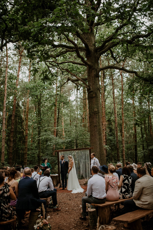 Macrame Hanging Backdrop Rug Aisle Ceremony Woodland Whimsical Boho Wedding Camilla Andrea Photography