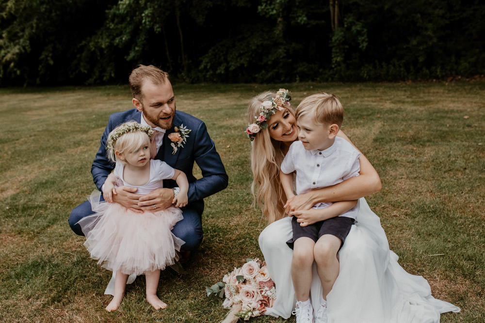Flower Girl Page Boy Whimsical Boho Wedding Camilla Andrea Photography