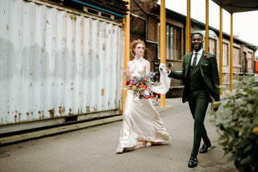 Fun & Colourful British & Nigerian Fusion Wedding in the City