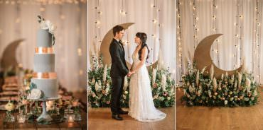 Celestial Wedding Inspiration Becky Harley Photography