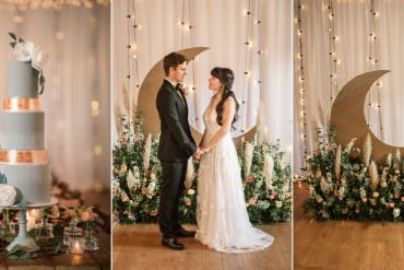 Opulent & Magical Celestial Wedding Inspiration