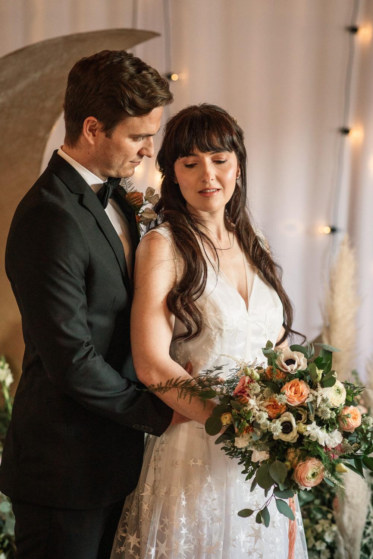 Celestial Wedding Inspiration Becky Harley Photography