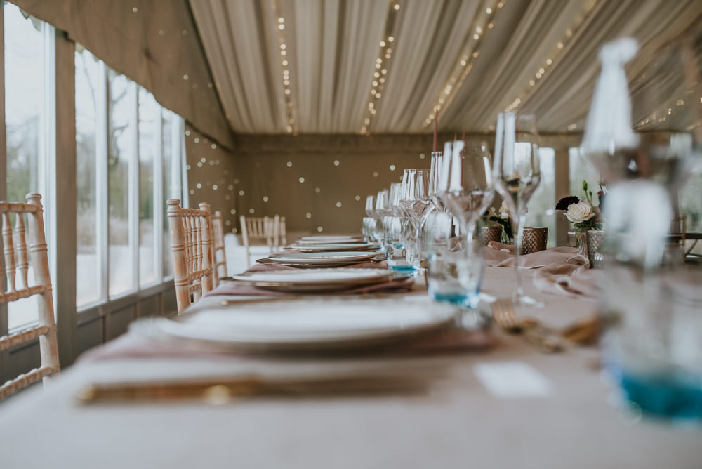 Marquee Fairy Lights Chippenham Park Wedding Daniel Ackerley Photography
