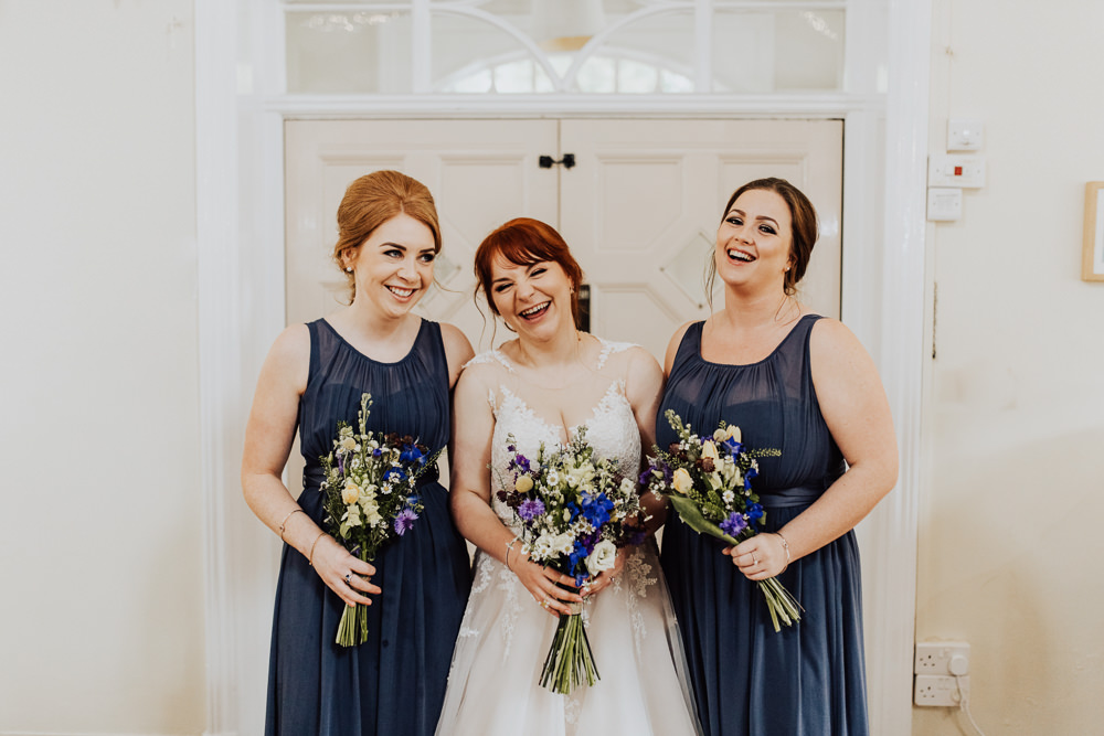 Bridesmaids Bridesmaid Dress Dresses Blue Homemade Wedding Wyldbee Photography