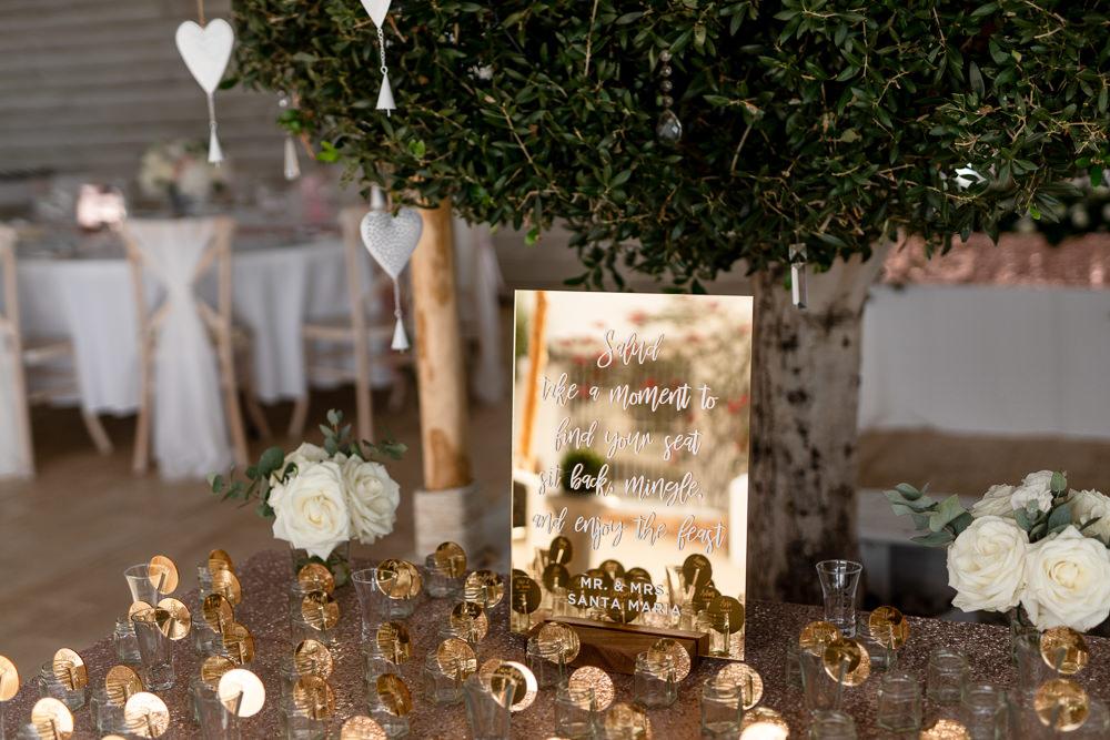 Escort Card Table Plan Seating Chart Ibiza Destination Wedding David Christopher Photography