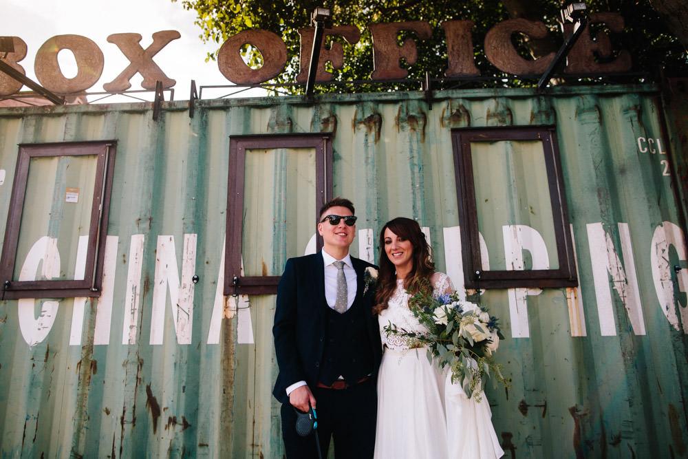 Indie Warehouse Wedding Dan Hough Photo