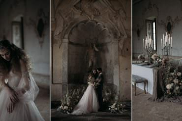 Hauntingly Beautiful Italy Elopement Ideas