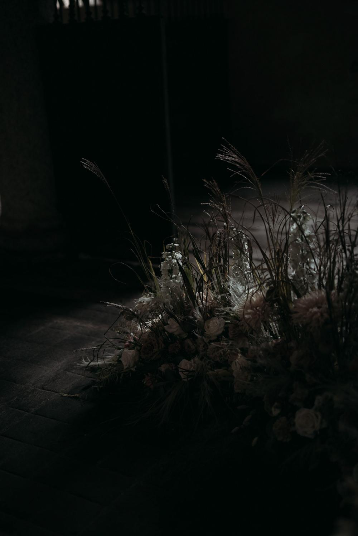 Flower Installation Backdrop Meadow Flower Arrangement Italy Elopement Ideas Gradisca Portento Fotografica