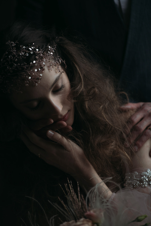 Bride Bridal Make Up HAir Accessory Italy Elopement Ideas Gradisca Portento Fotografica