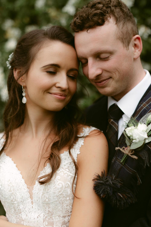 Bride Bridal Make Up Hair Ivory Pavilion Wedding Iain Irwin Photography