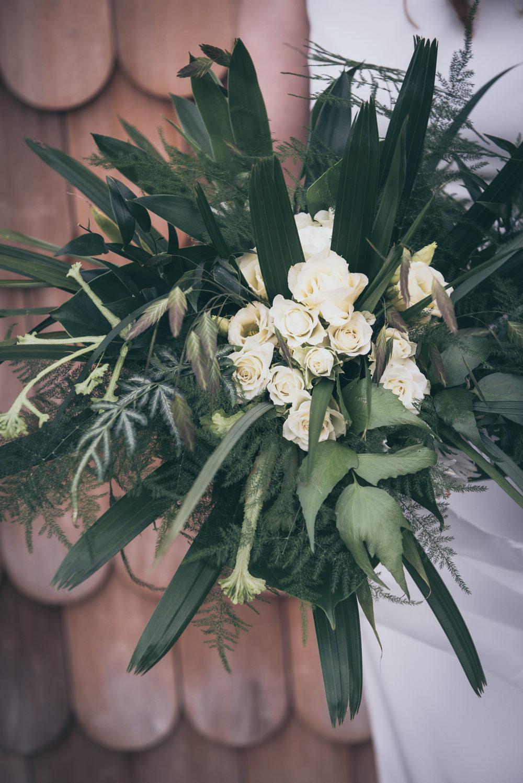 Bouquet Flowers Bride Bridal Greenery Foliage Rose Modern Wedding Ideas Cat Arwel Photography