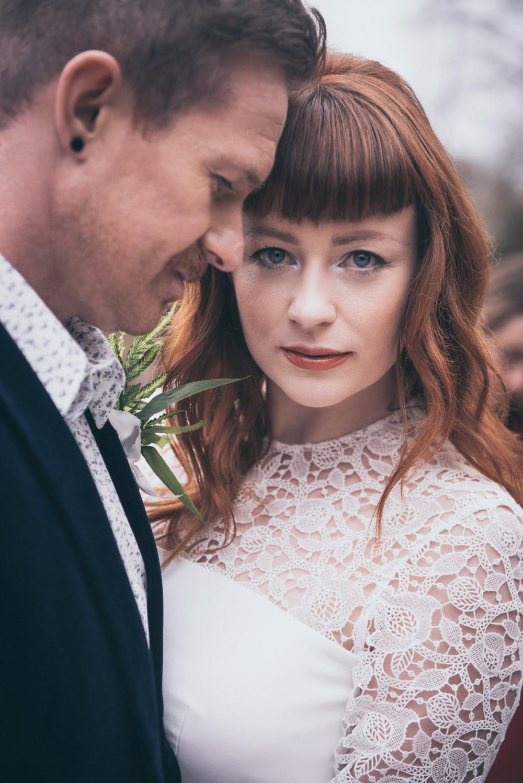 Bride Bridal Make Up Modern Wedding Ideas Cat Arwel Photography