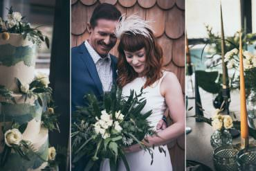 Modern Wedding Ideas with Nature Inspired & Green Tone Styling