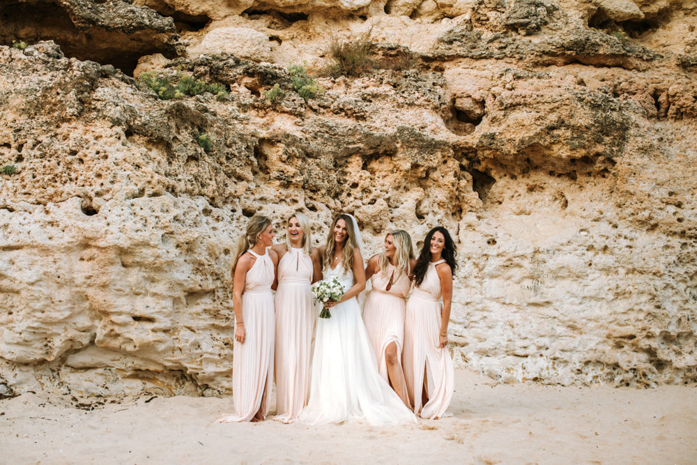Bridesmaids Bridesmaid Dress Dresses Pink Portugal Destination Wedding The Lovers Imagery