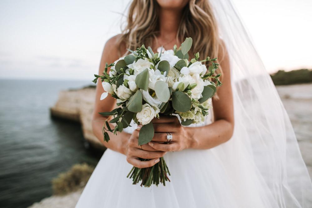 Bouquet Flowers Bride Bridal Eucalyptus Portugal Destination Wedding The Lovers Imagery