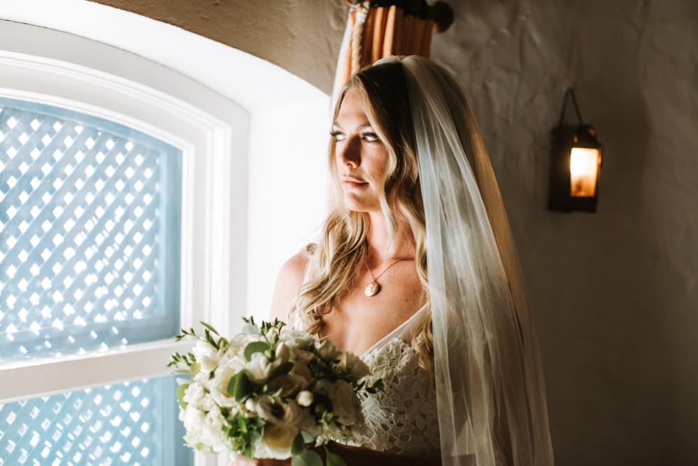 Bride Bridal Veil Portugal Destination Wedding The Lovers Imagery