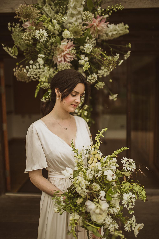 Ceremony Flowers Backdrop Small Wedding Ideas The Springles