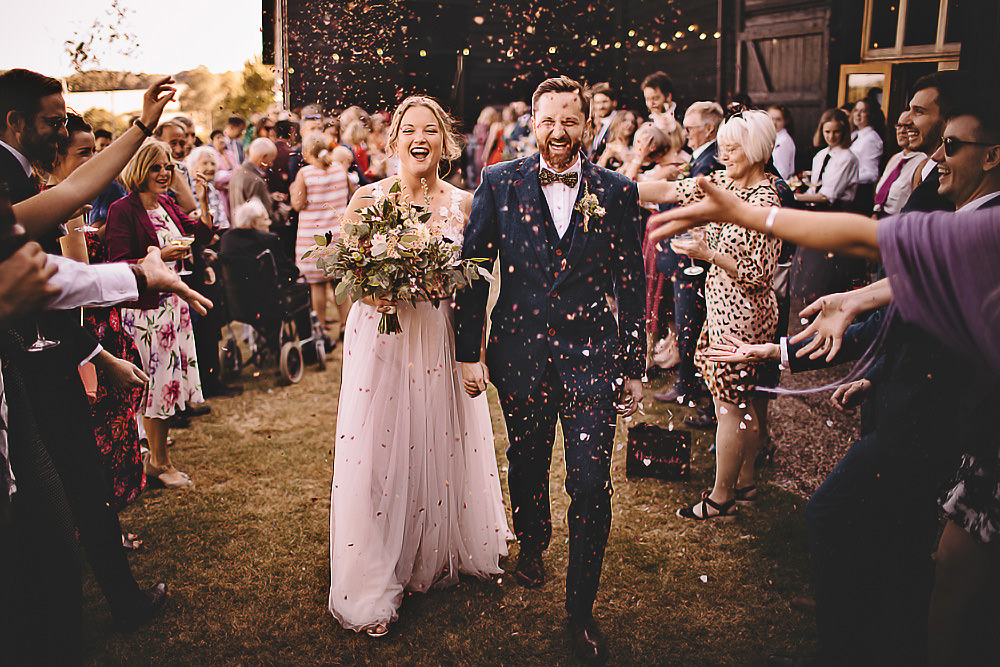 Confetti Suffolk Barn Wedding Carrie Lavers Photography