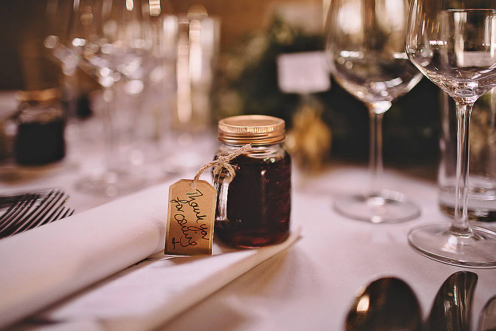 Jam Favours Suffolk Barn Wedding Carrie Lavers Photography