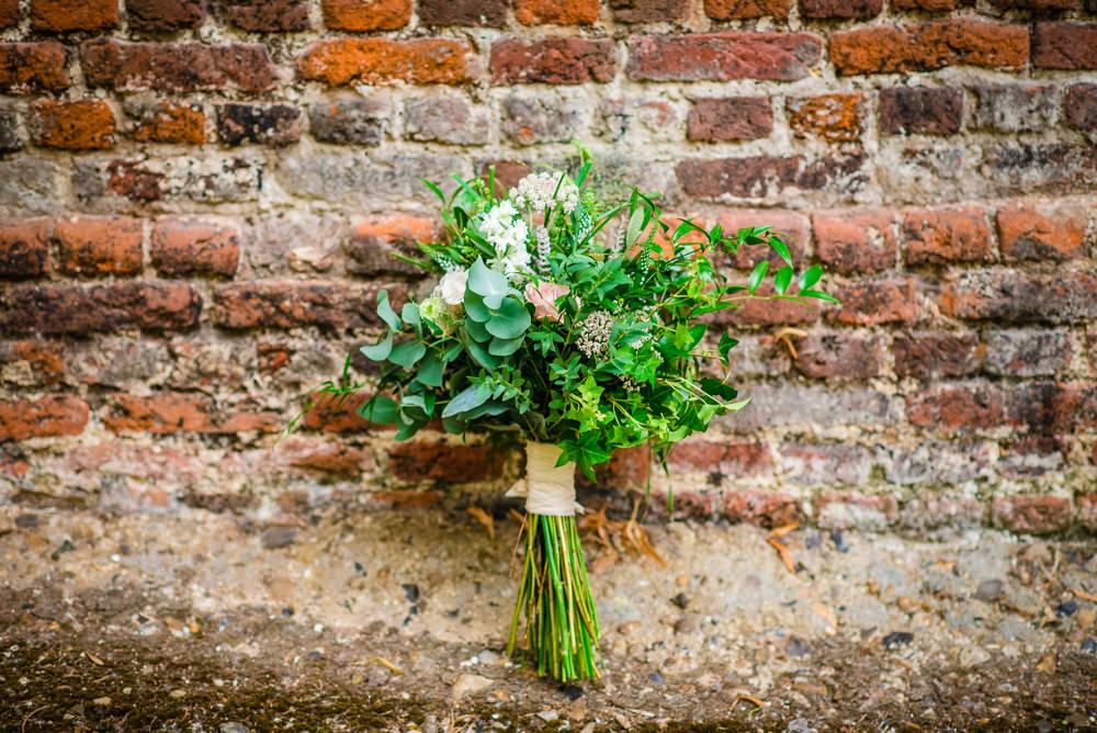 Bouquet Flowers Bride Bridal Greenery Folilage Colville Hall Wedding GK Photography