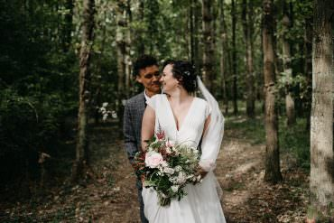 Magical Woodland Glamping Same Sex Wedding