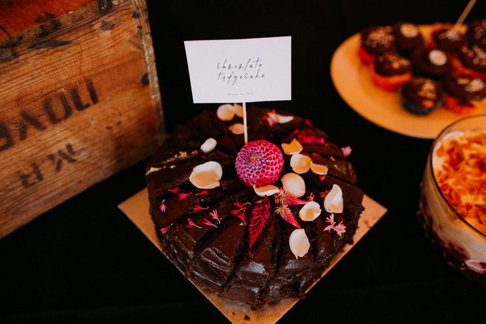 Cake Dessert Table Pennard Hill Farm Wedding MT Studio