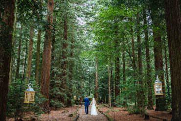 Joyful & Colourful Woodland Wedding