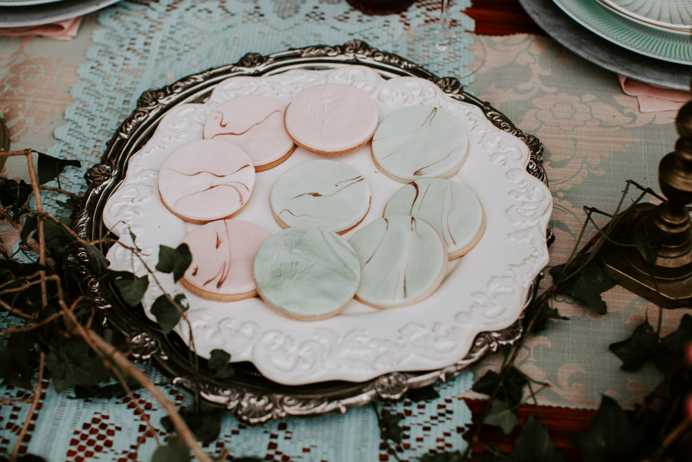 Cookies Biscuits Iced Whimsical Wedding Ideas Charlotte Lucy Photography