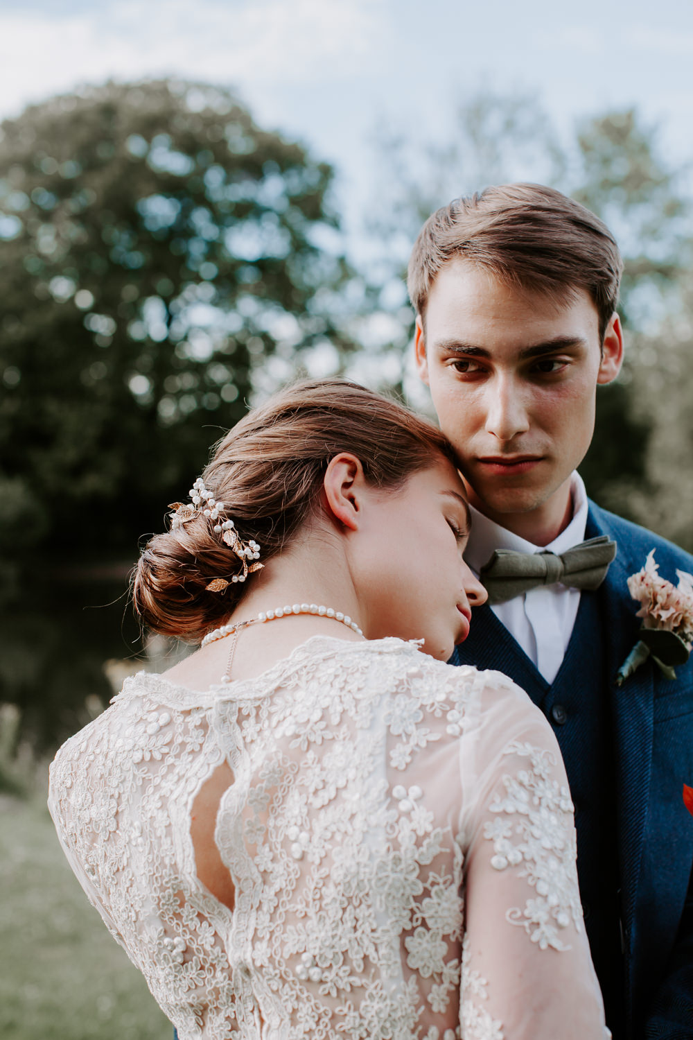 Whimsical Wedding Ideas Charlotte Lucy Photography Bride Bridal Hair Style Up Do