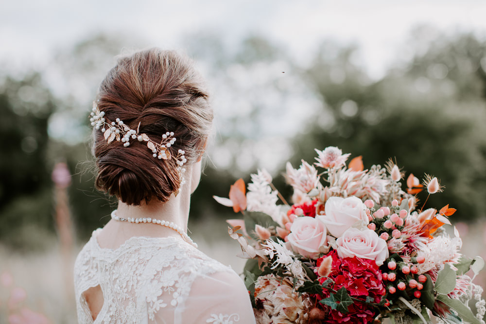 Bride Bridal Hair Style Up Do Whimsical Wedding Ideas Charlotte Lucy Photography