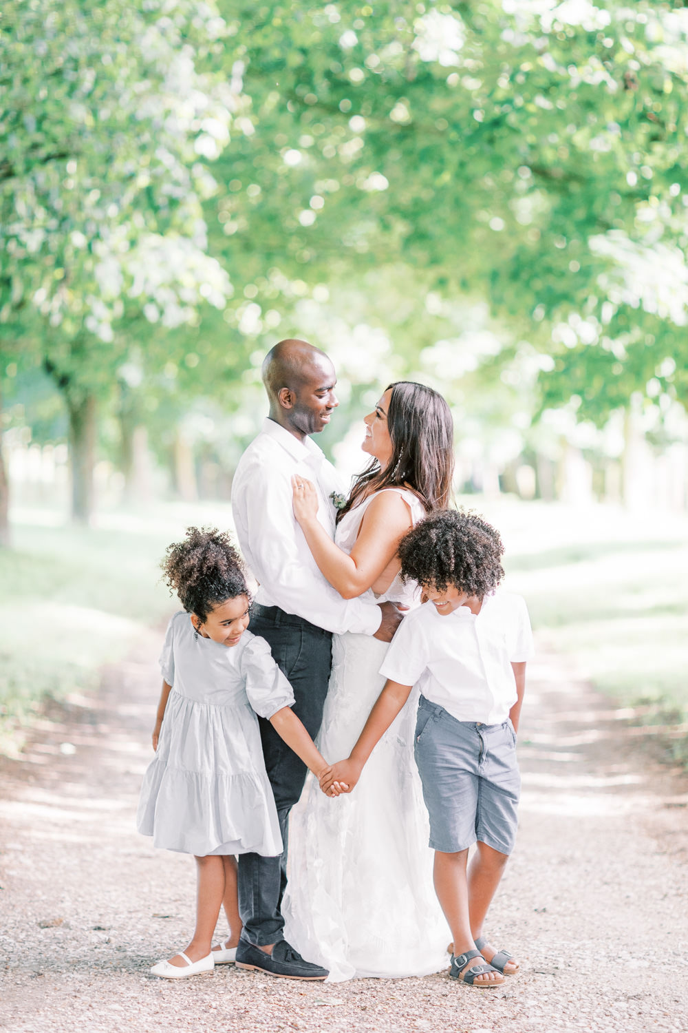 Family Elopement Ideas Sophie May Photo Flower Girl Page Boy