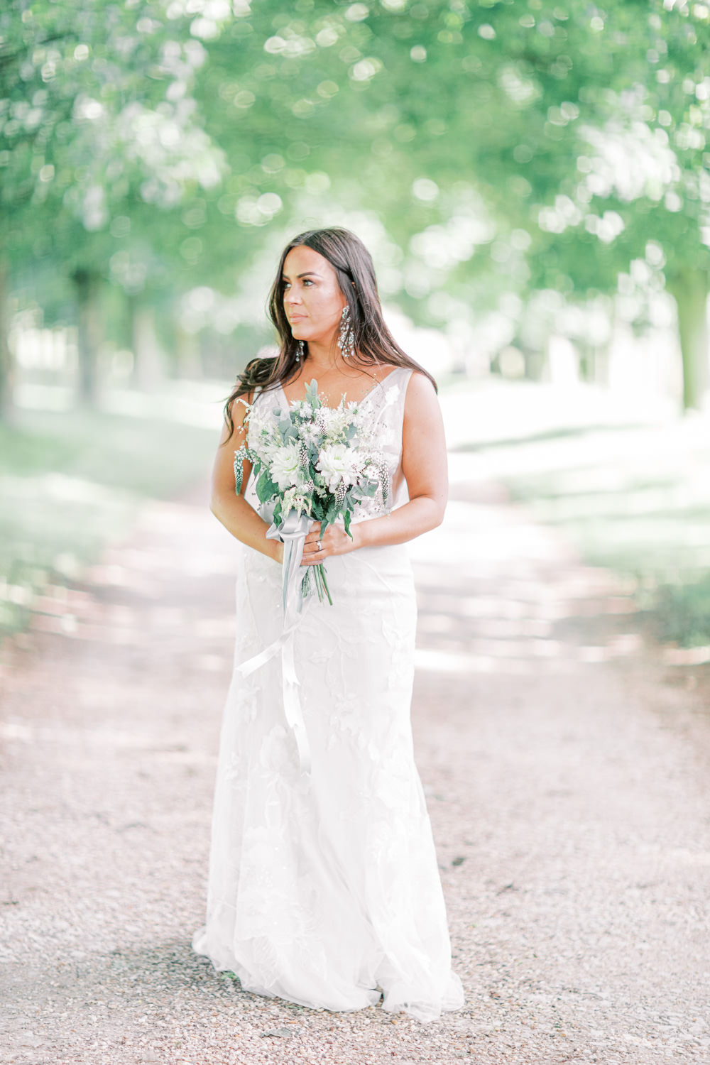 Dress Gown Bride Bridal Lace Family Elopement Ideas Sophie May Photo
